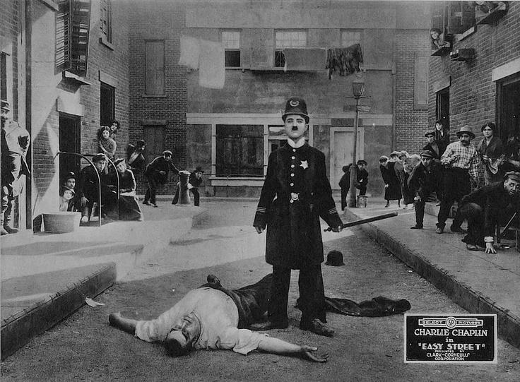 Chaplin easy street