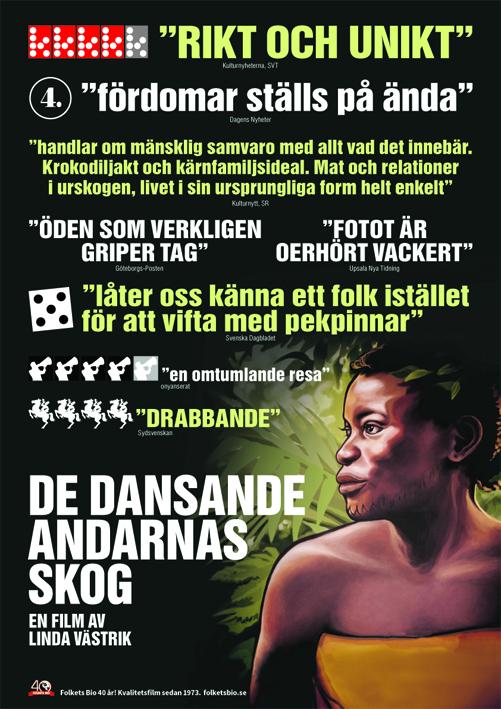 De dansande andarnas skog poster copy