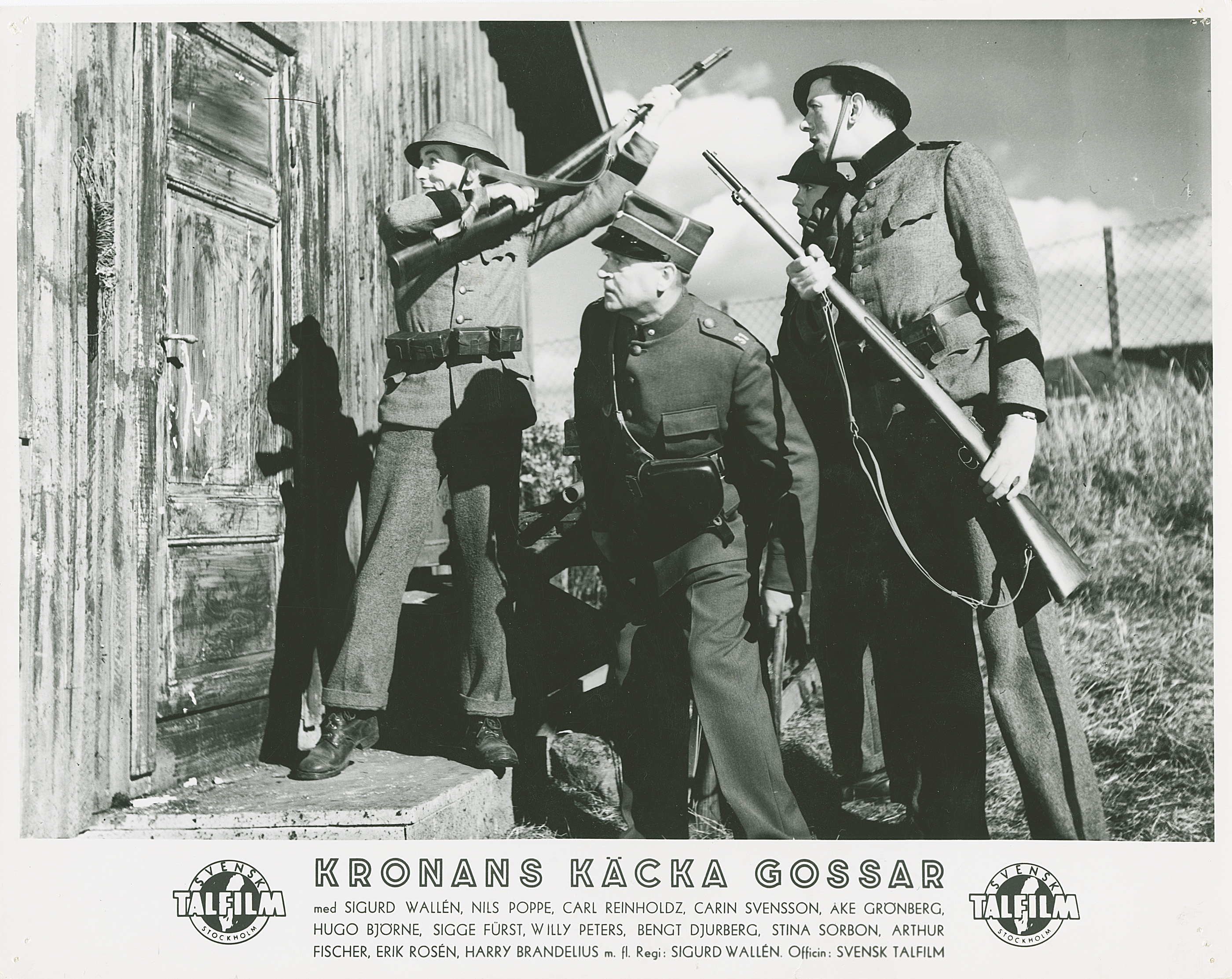 Kronans käcka gossar (1940) Filmografinr 1940/03