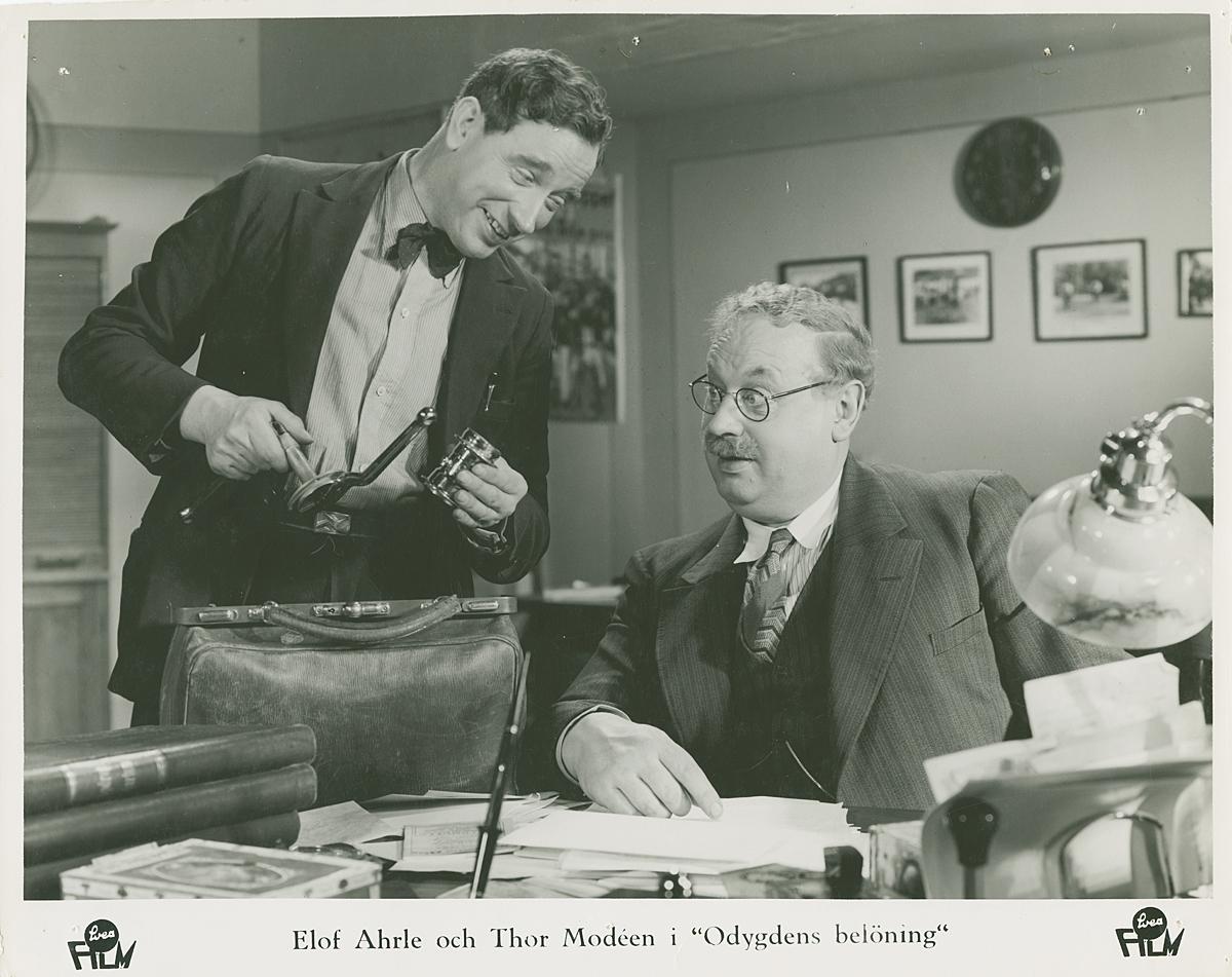Odygdens belöning (1937) Filmografinr 1937/08
