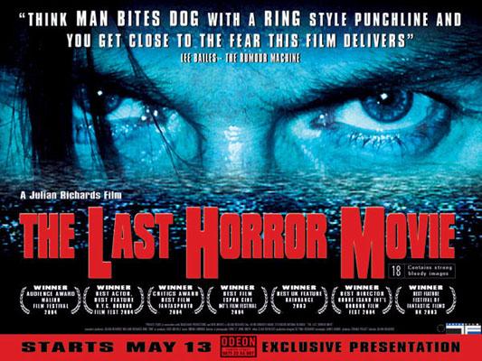 last horror movie poster