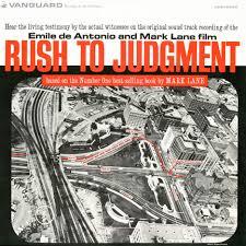 rush to judgement