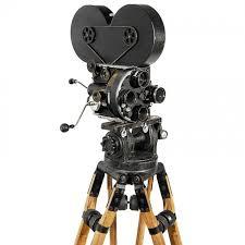 silent film camera