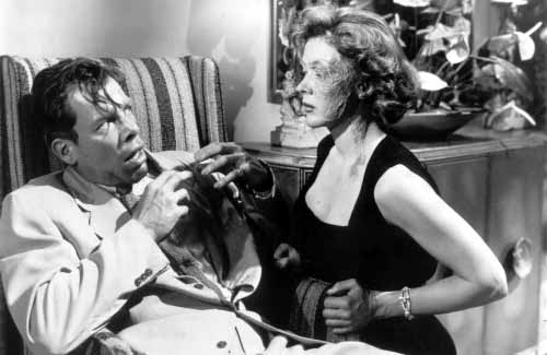 The Big Heat (1953) Directed by Fritz Lang Shown from left: Lee Marvin (as Vince Stone), Gloria Grahame (as Debby Marsh)