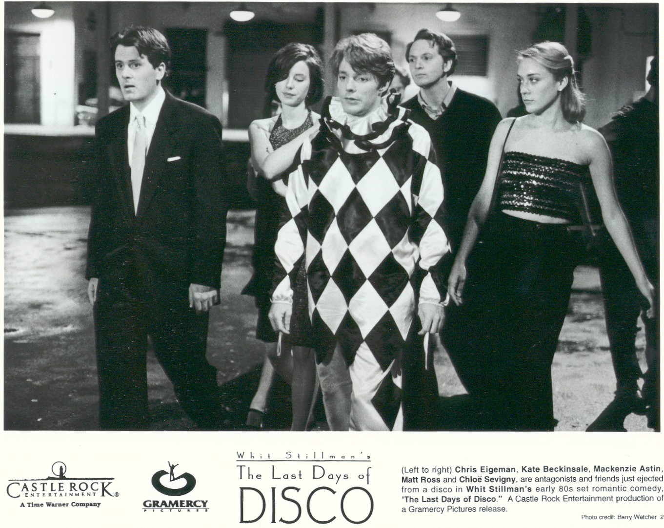 1998 The Last Days of Disco Kate Beckinsale Chloe Sevigny Chris Eigeman MAckenzie Astin Matt Ross